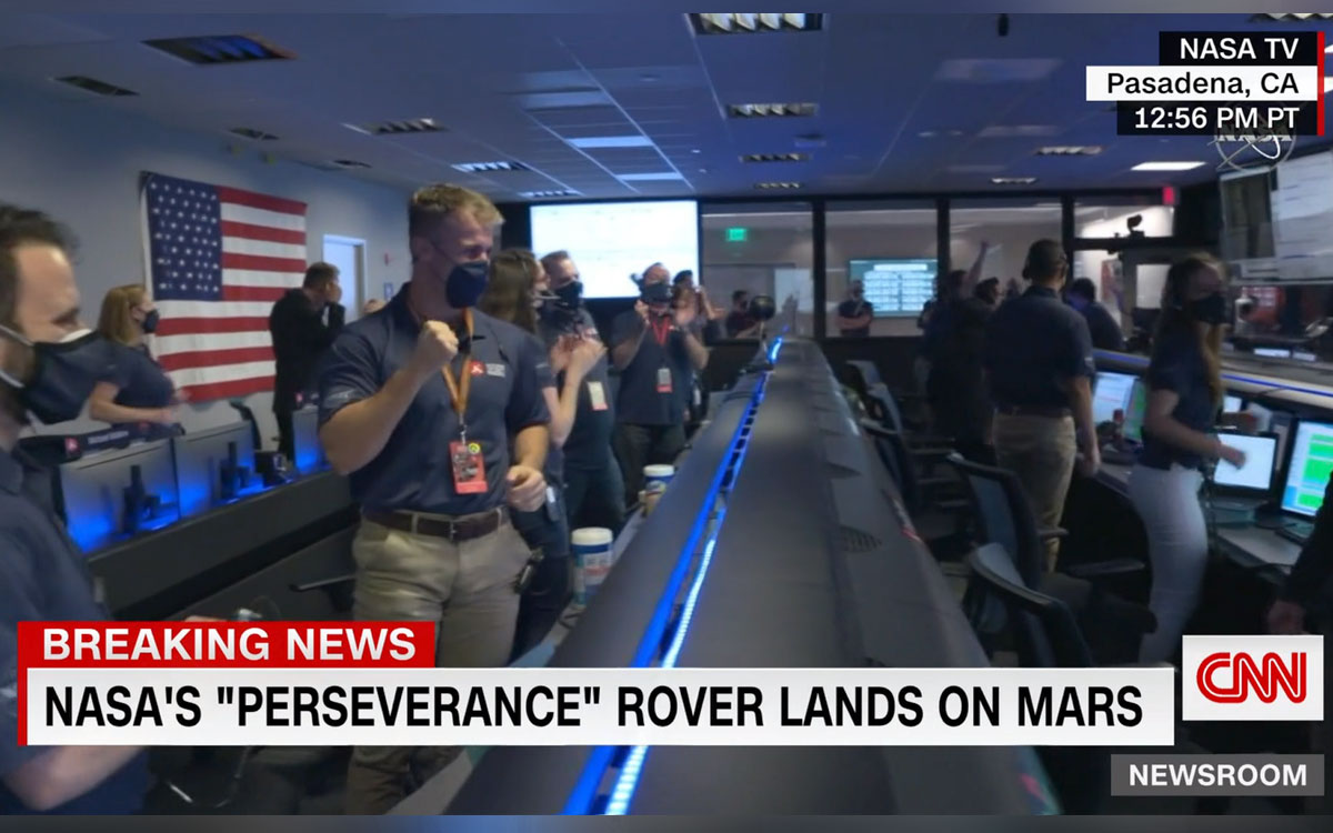 Perseverance rover has successfully landed on Mars