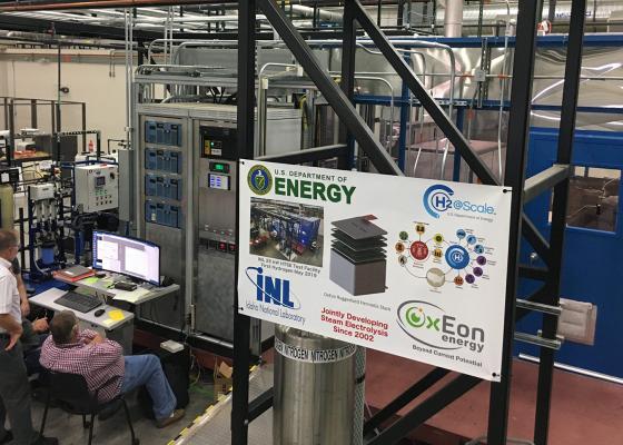 5 kW SOEC stack module